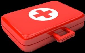 førstehjælps kasse